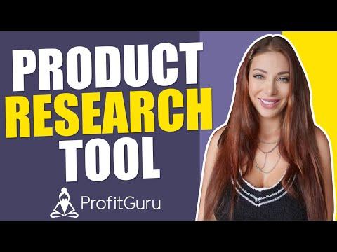 Amazon Product Research Simplified | ProfitGuru's Amazon Seller Tools