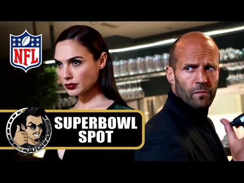 SUPER BOWL TV Spot 2017 - Gal Gadot & Jason Statham Fight (Wix.com)