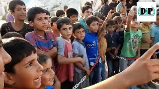 Relawan Indonesia menmpung anak-anak pengungsi Suriah
