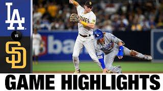 Dodgers vs. Padres Game Highlights (6/22/21) MLB Highlights