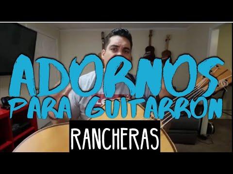 Adornos Para Guitarron 'Rancheras'