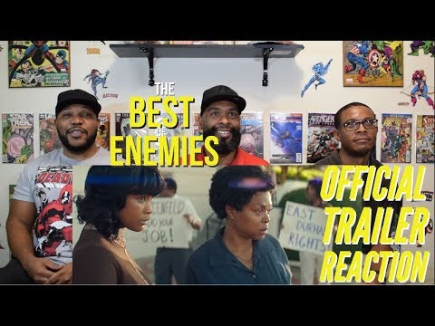 The Best of Enemies Official Trailer Reaction