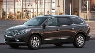 2013 Buick Enclave Start Up and Review 3.6 L V6