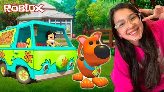 Roblox - ADOTEI UM PET DO SCOOBY DOO NO ADOPT ME (Adopt Me) | Luluca Games