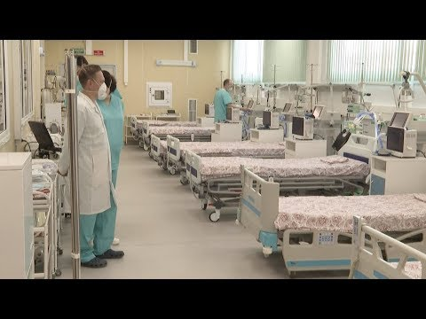 COVID-19: Guided tour of Moscow's new Chinese-inspired hospital
