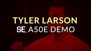 Tyler Larson demos the SE A50E | PRS Guitars
