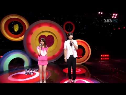 IU & Seul Ong - Nagging (아이유 & 슬옹 - 잔소리) @ SBS Inkigayo 인기가요 100627