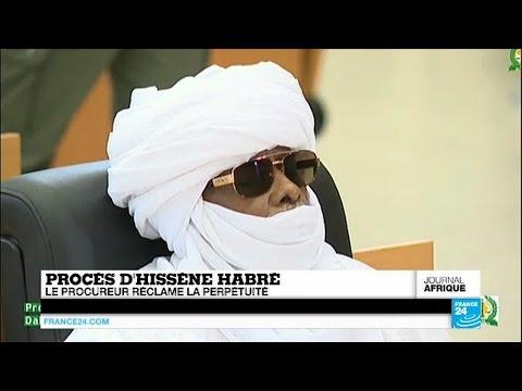 La perpétuité requise contre Hissène Habré à Dakar