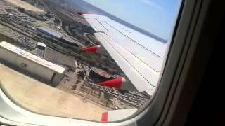 take off, Palma De Mallorca Jet2 boeing 737-300