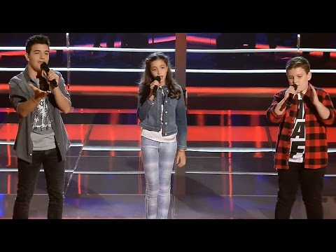 "Hayk vs. Marc Betriu vs. Sofía: ""Homeless"" – Las Batallas - La Voz Kids 2017"