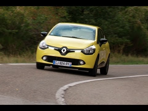 Renault Clio 2012 roadtest (English subtitled)