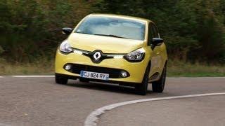 Renault Clio 2012 roadtest (English subtitled)