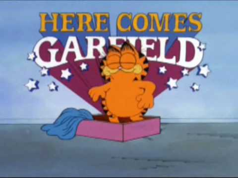 here comes garfield intro youtube. Black Bedroom Furniture Sets. Home Design Ideas