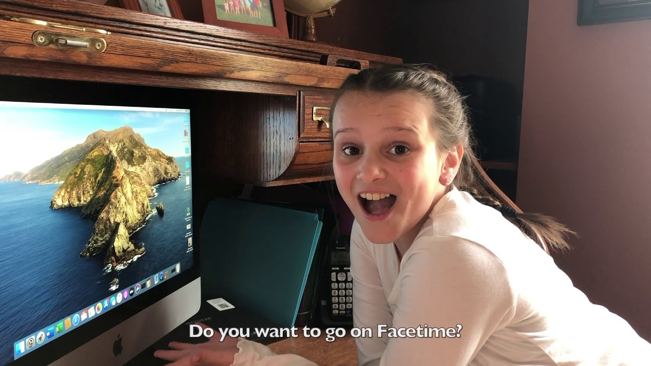 Do you want to go on Facetime? - YouTube