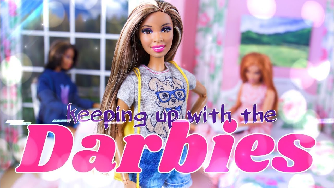 The Darbie Show: Keeping up with The Darbies | Anna VS Sophie School Project