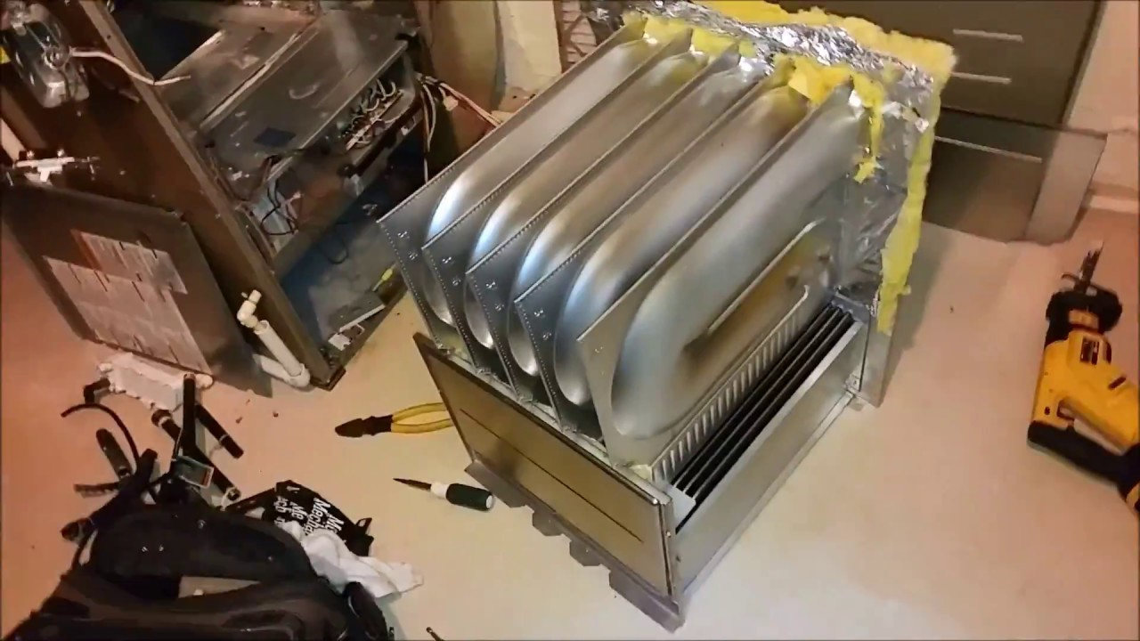 Parts missing on a heat exchanger replacement part 2 of 2 ...