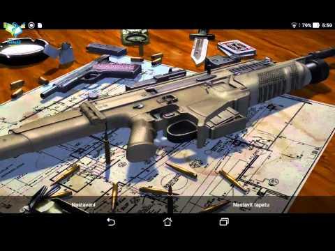 3D Guns Live Wallpapers Download Link