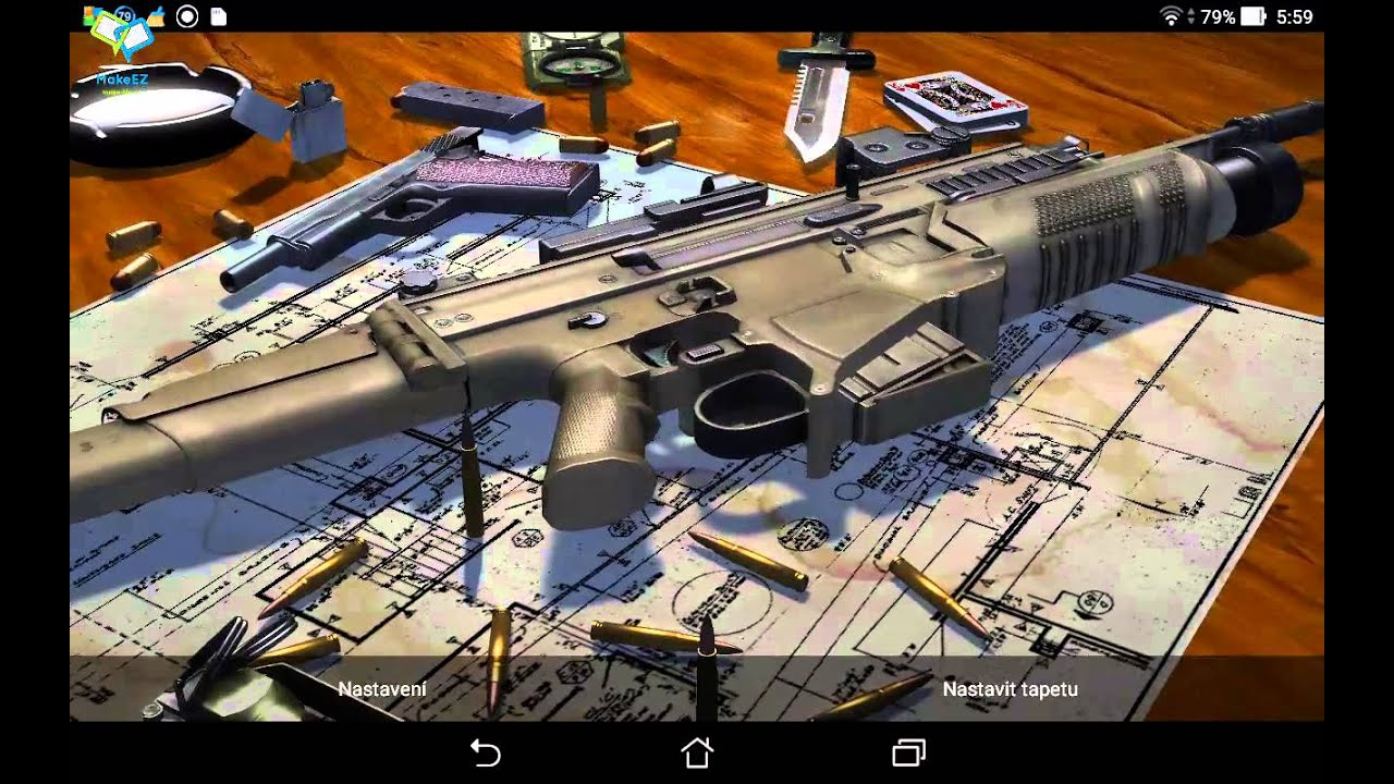 3D Guns Live Wallpapers Download Link