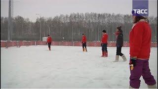 По самые валенки, или как играют в футбол на снегу
