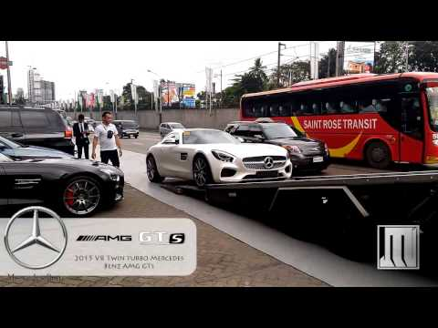 Delivery of New AMG GTs in Manila