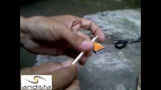 Andista : Membuat Petasan Korek Api