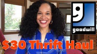 $30 Thrift Haul | GOODWILL EDITION