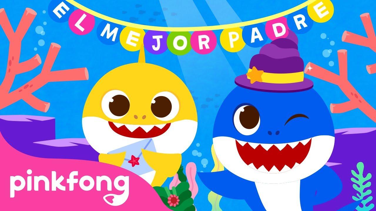 ¡Mi papi es un superhéroe! | Especial del Tiburón Papá |+Recopilación |Pinkfong Canciones Infantiles