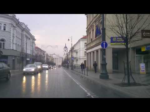 Weather in Vilnius, Lithuania, 2010-04-06, temperature - plus 10 C from Oras TV