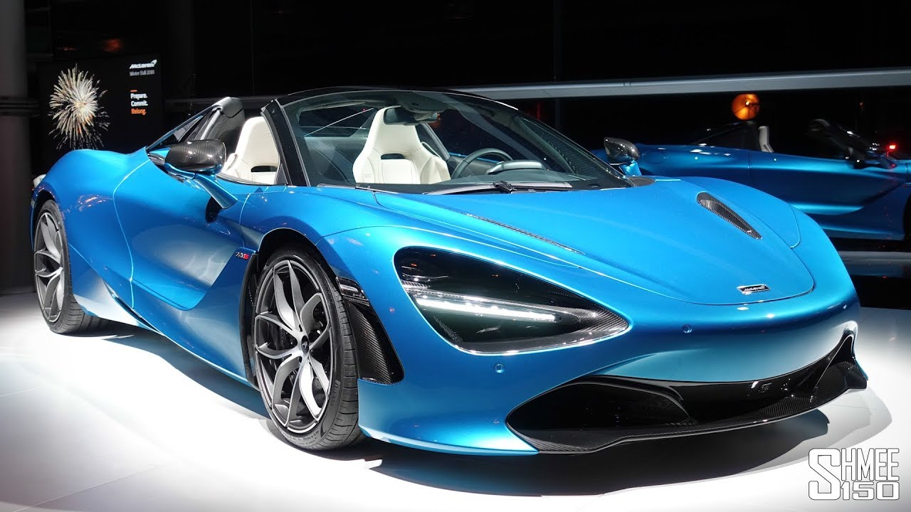 Here S The New Mclaren 720s Spider Roof Is Off First Look
