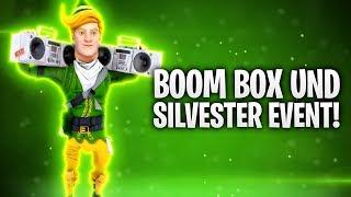 NEUE BOOM BOX und SILVESTER EVENT! 🌟🔊   Fortnite: Battle Royale