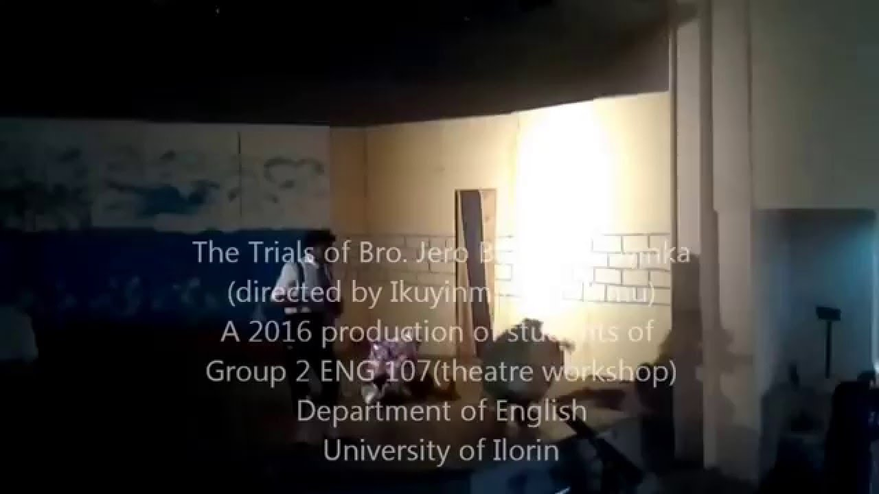 The Trials Of Brother Jero Pdf