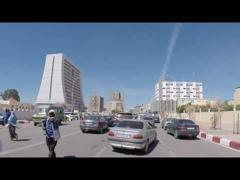 Mauritania Nouakchott City center, Gopro / Mauritanie Nouakchott Centre ville, Gopro