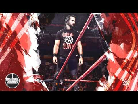 "2017: Seth Rollins 7th & New WWE Theme Song - ""The Second Coming"" (V3; ""Burn It Down!"" Quote) ᴴᴰ"