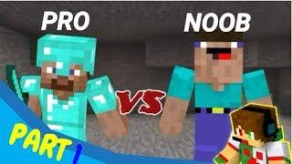 DADY gaming/ noob vs pro in minecraft