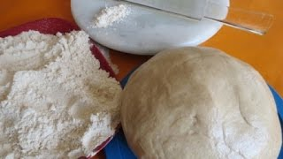 How to make wheat flour dough in food processor( Real-time video)|Poonam's Kitchen