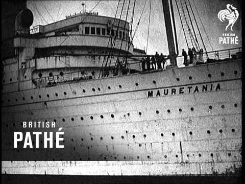 Mauretania's Last Voyage (1935)
