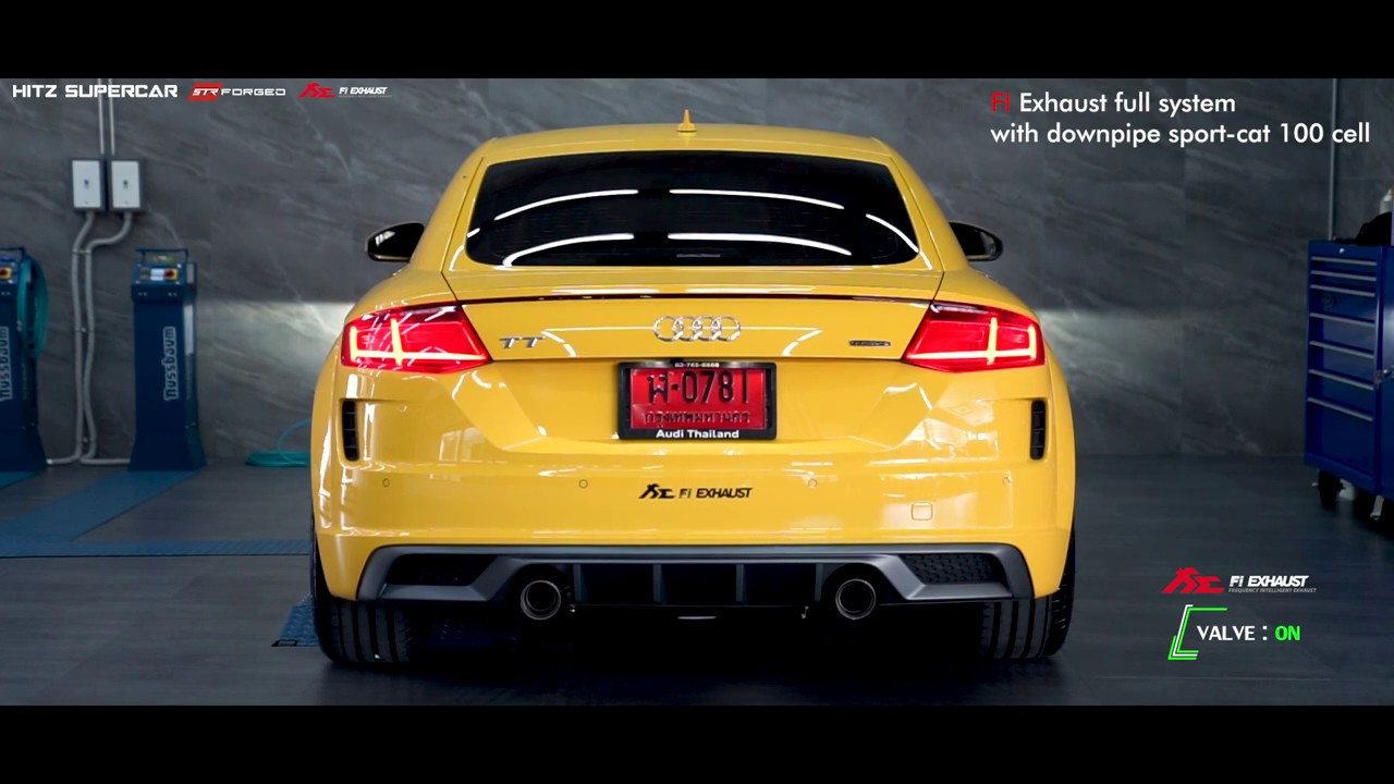 HITz SuperCar Audi TT mk3 with STR Forged Wheel, FI Exhaust