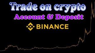 Binance Exchange || Trade On Crypto..
