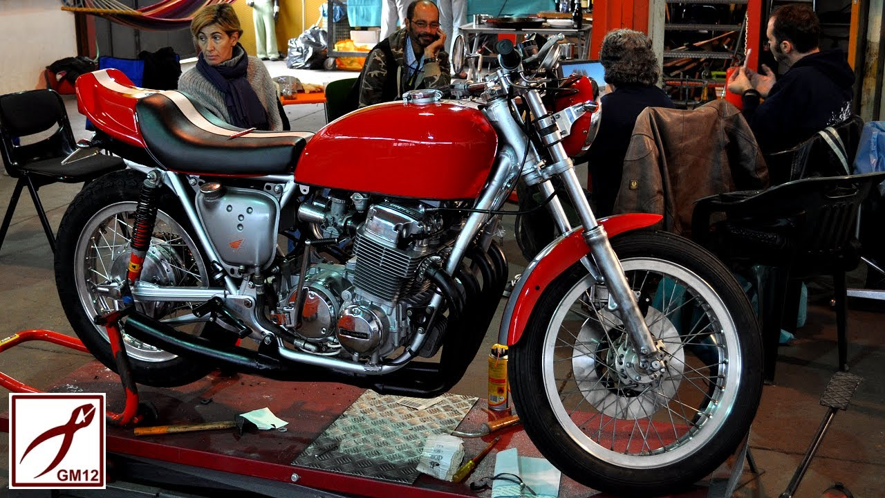 GM12 HONDA CB750Four Cafe Racer Build in 10 Minutes