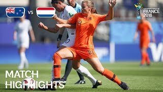New Zealand v. Netherlands - FIFA U-20 Women's World Cup France 2018- Match 2