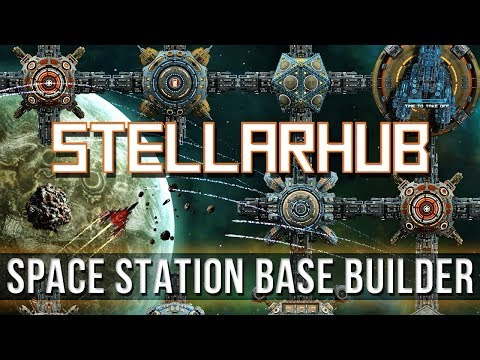 StellarHub - Space Station Base Builder