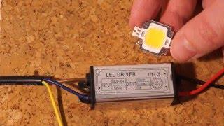 Сверхмощный светодиод 10Вт. Обзор, тесирование.