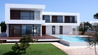 Minecraft: How to Build a Realistic Modern House / Mansion  -  Modern House Tutorial