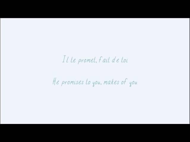 Indila - S.O.S (Lyrics in French & English)