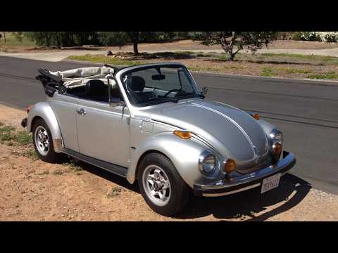 1979 VW Beetle Convertible For Sale
