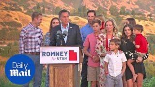 Mitt Romney wins the Utah Republican senate primary