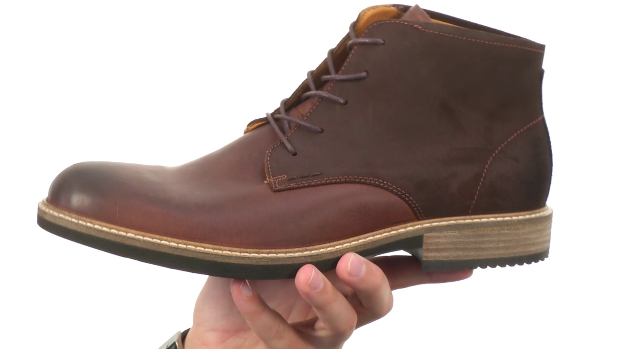 ECCO Men's Track II Low Shoes - YouTube