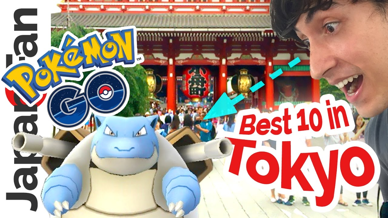 10 Best Places for Pokémon Go in Tokyo | TripleLights