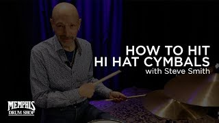 How to Hit Hi Hat Cymbals with Steve Smith