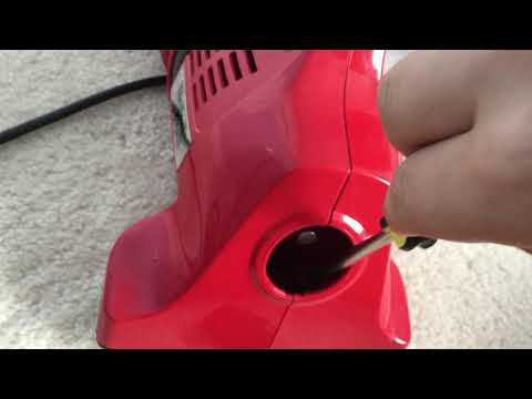 How To Change The Belt On A Dirt Devil Model 103 Hand Vacuum